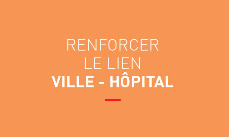 Titre Rapport FHF Renforcer le lien ville-hôpital
