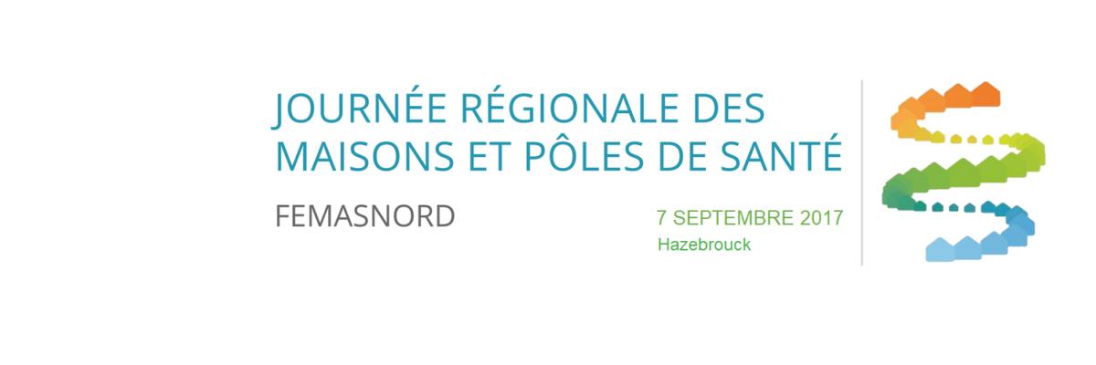 Journée régionale des maisons de santé 2017