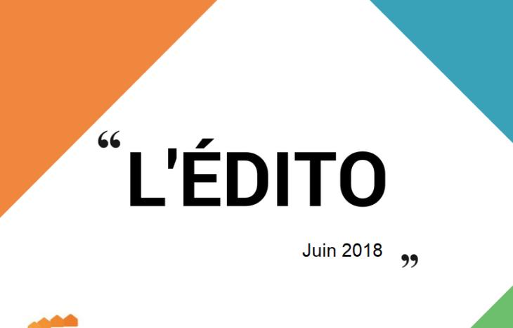 L'édito du président … de la FEMAS Hauts-de-France ! Juin 2018