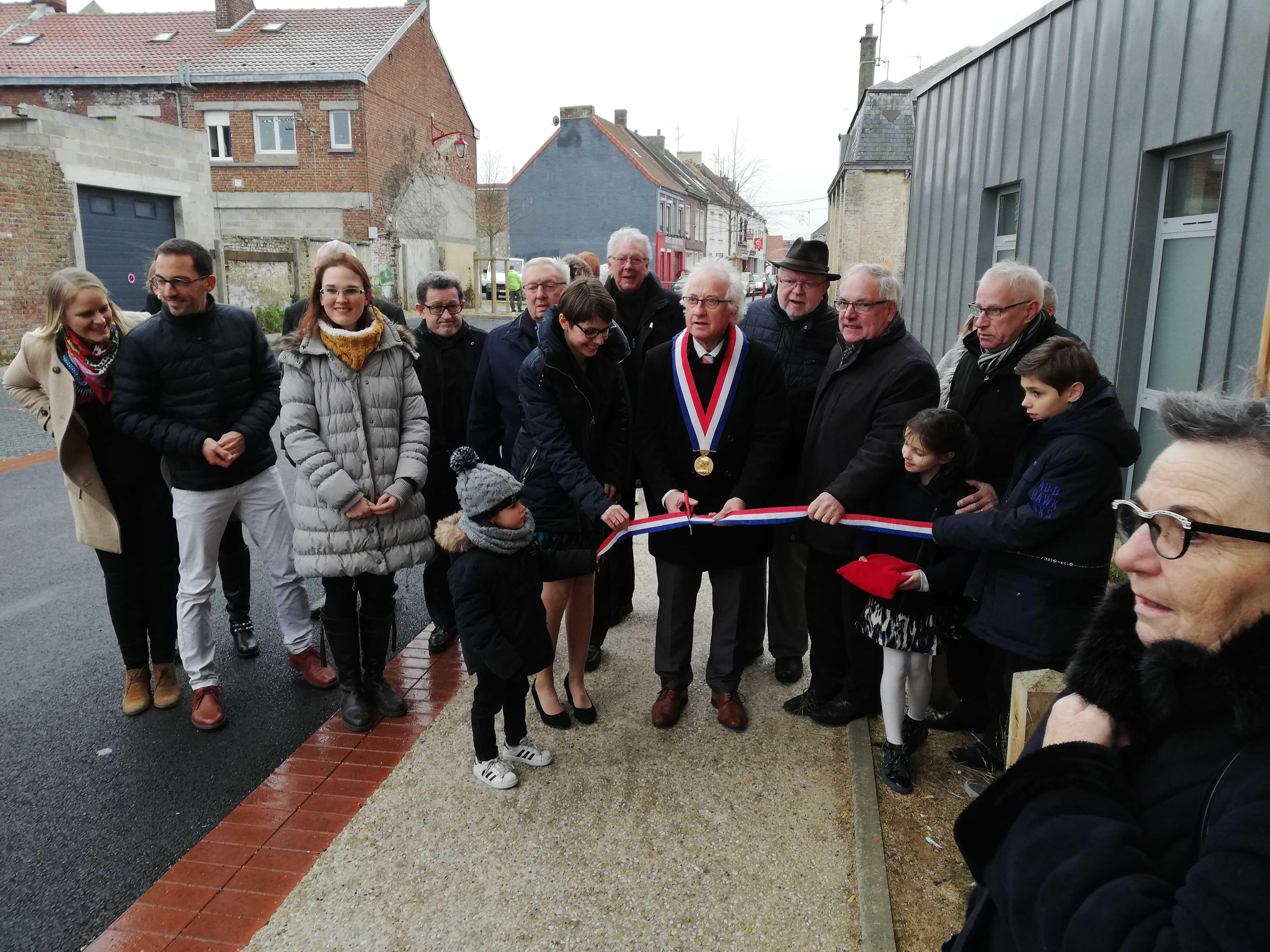 Inauguration de la Maison de Santé de Watten