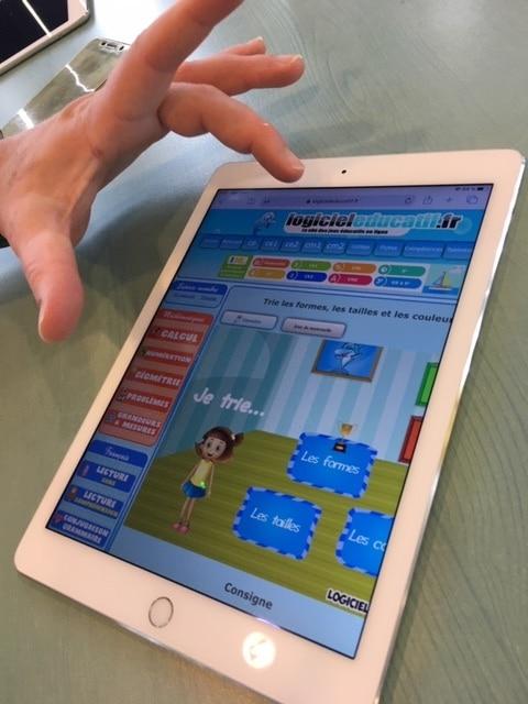 Tablette et jeux éducatifs pour enfants
