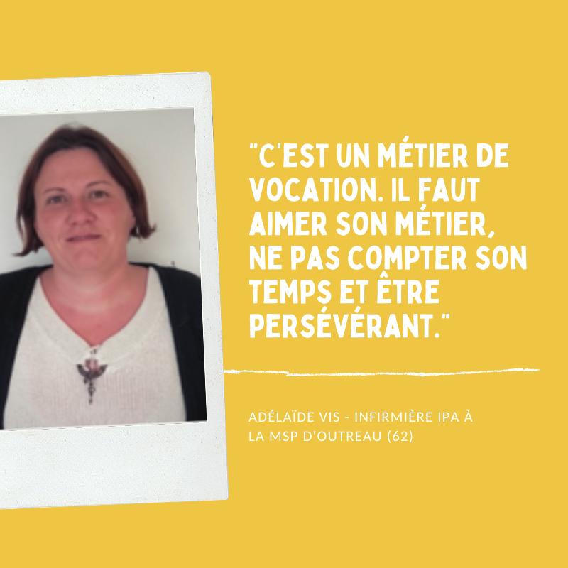 Read more about the article Rencontre avec Adélaïde Vis – Infirmière en Pratique Avancée (IPA)
